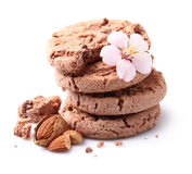 Almonds cookie Royalty Free Stock Photos