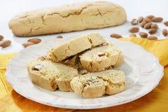 Almonds cookies Stock Image