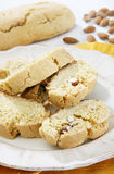 Almonds cookies Royalty Free Stock Photos