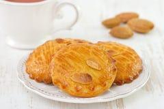 Almonds cookies Royalty Free Stock Photos
