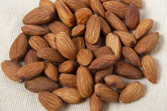 Almonds Detail Stock Images