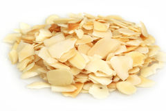 Almonds flakes Stock Images