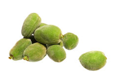 Almonds fruits isolated Stock Photography