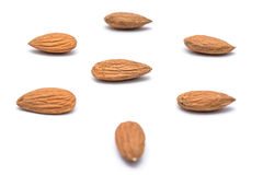 Almonds Fruits Stock Images
