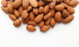Almonds. Healthy and Natural food ingredient stock photos