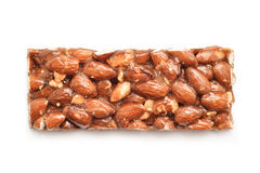 Almonds honey Royalty Free Stock Image