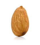 Almonds isolated on the white background Stock Image