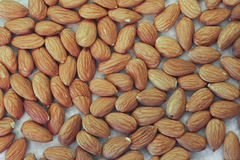 Almonds On A Kitchen Countertop Royalty Free Stock Photos