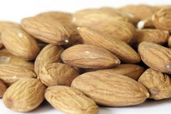Almonds Macro Royalty Free Stock Images