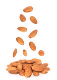 Almonds nuts Royalty Free Stock Photography