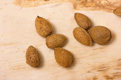 Almonds nuts Royalty Free Stock Photos