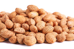 Almonds nuts Stock Images