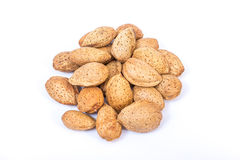 Almonds nuts Stock Image