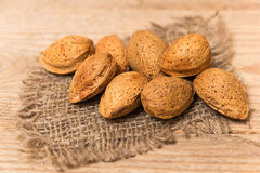 Almonds nuts Royalty Free Stock Photo