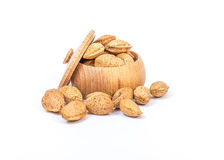 Almonds nuts Stock Photography