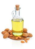 Almonds oil Stock Image