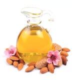 Almonds oil Stock Photo