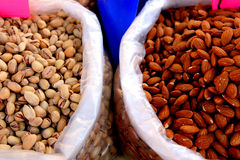 Free Almonds & Pistachios Traditional Market In Sicily Royalty Free Stock Photography - 9753287
