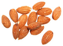 Almonds Salted and Roasted Royalty Free Stock Image