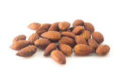 Almonds salted Royalty Free Stock Photography