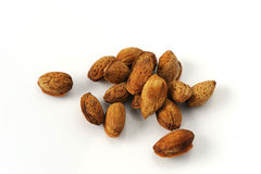 Almonds seed drying Stock Images