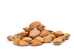 Almonds in shell Royalty Free Stock Photography