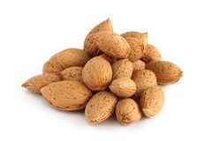 Almonds in the Shell Stock Images