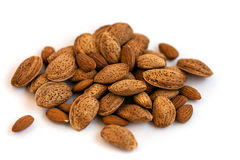 Almonds in Shell Royalty Free Stock Images