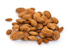 Almonds in Shell Stock Photography