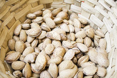 Almonds in shell Stock Photos