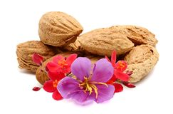Almonds nuts.