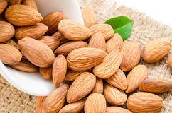 Almonds. Royalty Free Stock Photo
