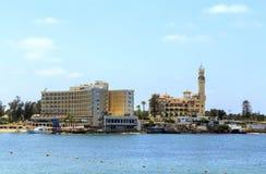 Almontaza slott Alexandria, Egypten Royaltyfria Foton