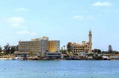 Almontazapaleis Alexandrië, Egypte Royalty-vrije Stock Foto's