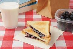 Almoço de escola Imagens de Stock