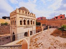 Almoravid Koubba in Marrakesh, Morocco Royalty Free Stock Images