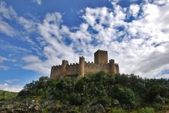 Almoroul Castle Royalty Free Stock Images