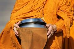 Almosenschüssel des Mönchs s Lizenzfreies Stockbild