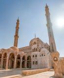 AlMostafa清真寺在沙姆沙伊赫,西奈,埃及 免版税库存图片