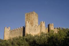 Almourol Castle Royalty Free Stock Image
