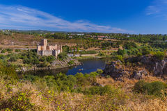 Almourol castle - Portugal Stock Images