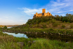 Almourol castle - Portugal Royalty Free Stock Images