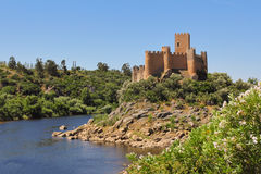 Almourol castle Stock Photo
