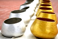 Alms bowl, Thailand Royalty Free Stock Photography