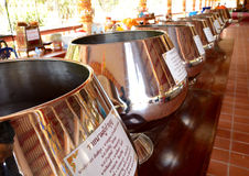 Alms bronze Royalty Free Stock Photos