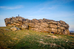 Almscliffe Crag Harrogate Royalty Free Stock Photos