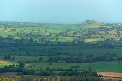 Almscliffe Crag from Otley Chevin Royalty Free Stock Images