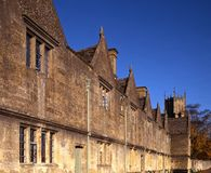 Almshouses, Chipping Campden, England. Royalty Free Stock Image