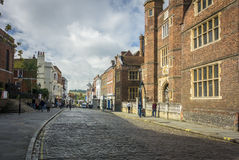 Almshouses Guildford High Street Royalty Free Stock Image