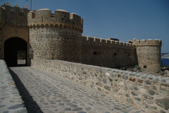 Almuñecar castle Stock Photography